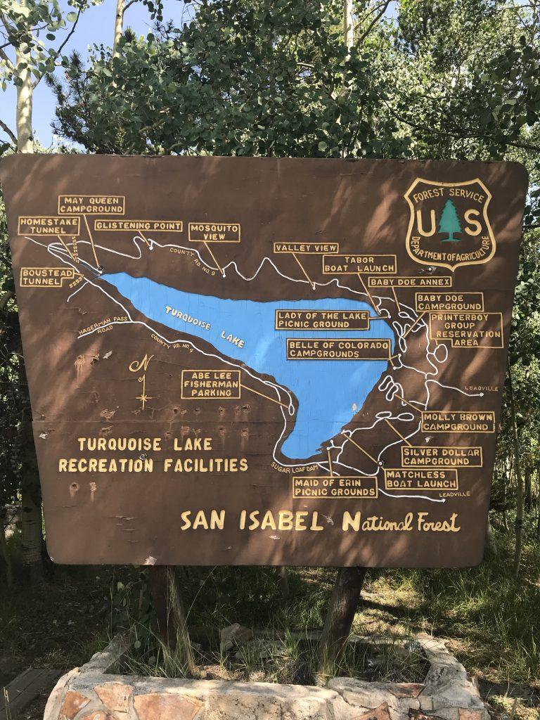 turquoise lake trail